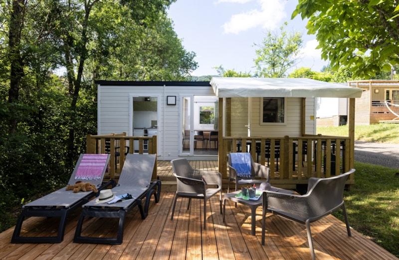 Mobil-Home Privilège BEIGE 27m² 2ch. -5pers. - CLIM - LV (copie) - Ardèche Camping
