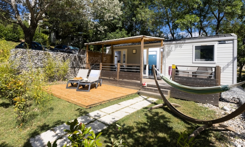 Mobil-Home Privilège OR 34m² 3ch. - 6pers. - CLIM - Ardèche Camping