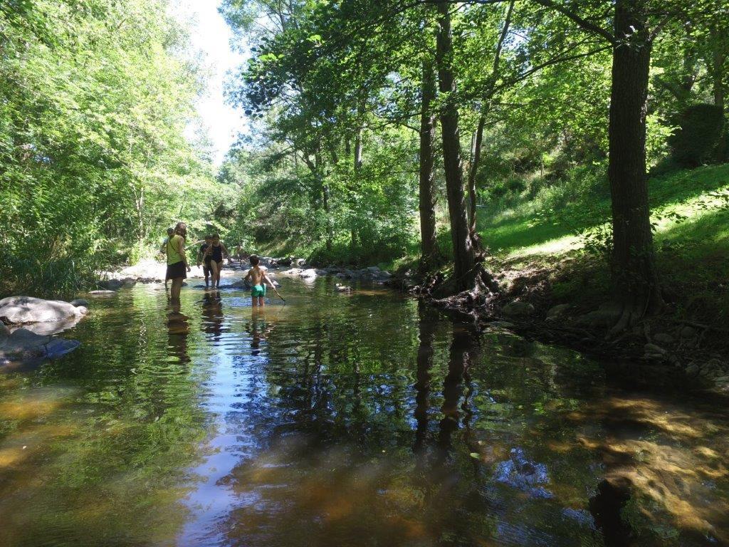 Camping Sites et Paysages l'Oasis, Éclassan, Ardèche