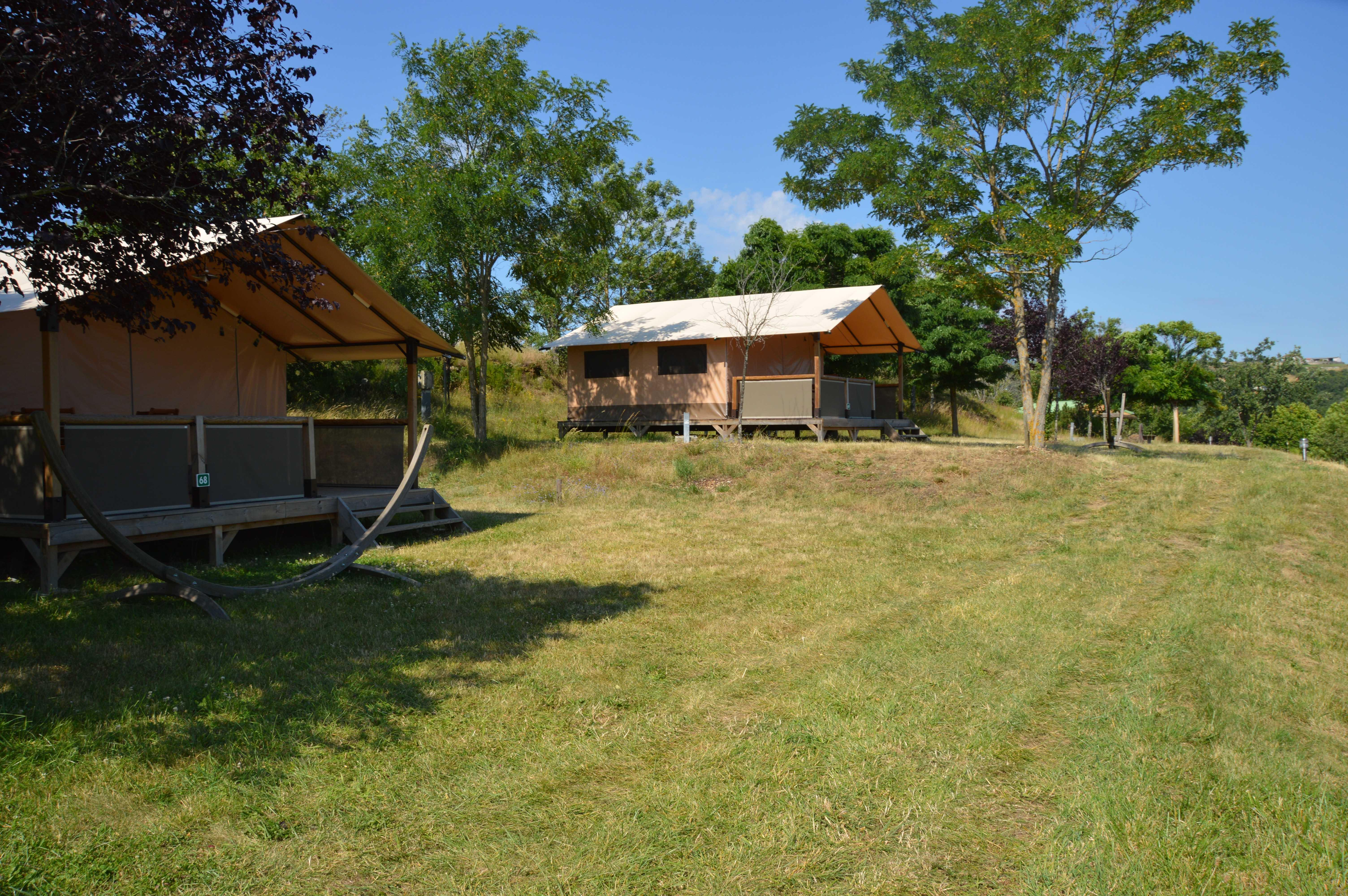 Accommodation - Chalet Lodge Victoria With Private Facilities - Sites et Paysages L'Oasis