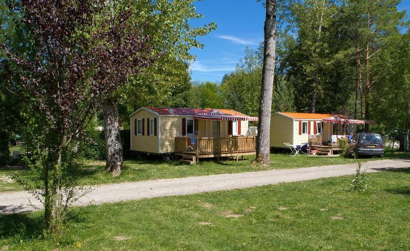 Camping les Pecheurs, Pont-de-Poitte, Jura