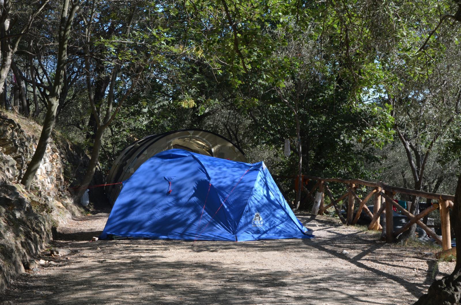 Emplacement - Demi Emplacement (Tente Canadienne) - Max 3 X 3 M. - Camping Pian dei Boschi
