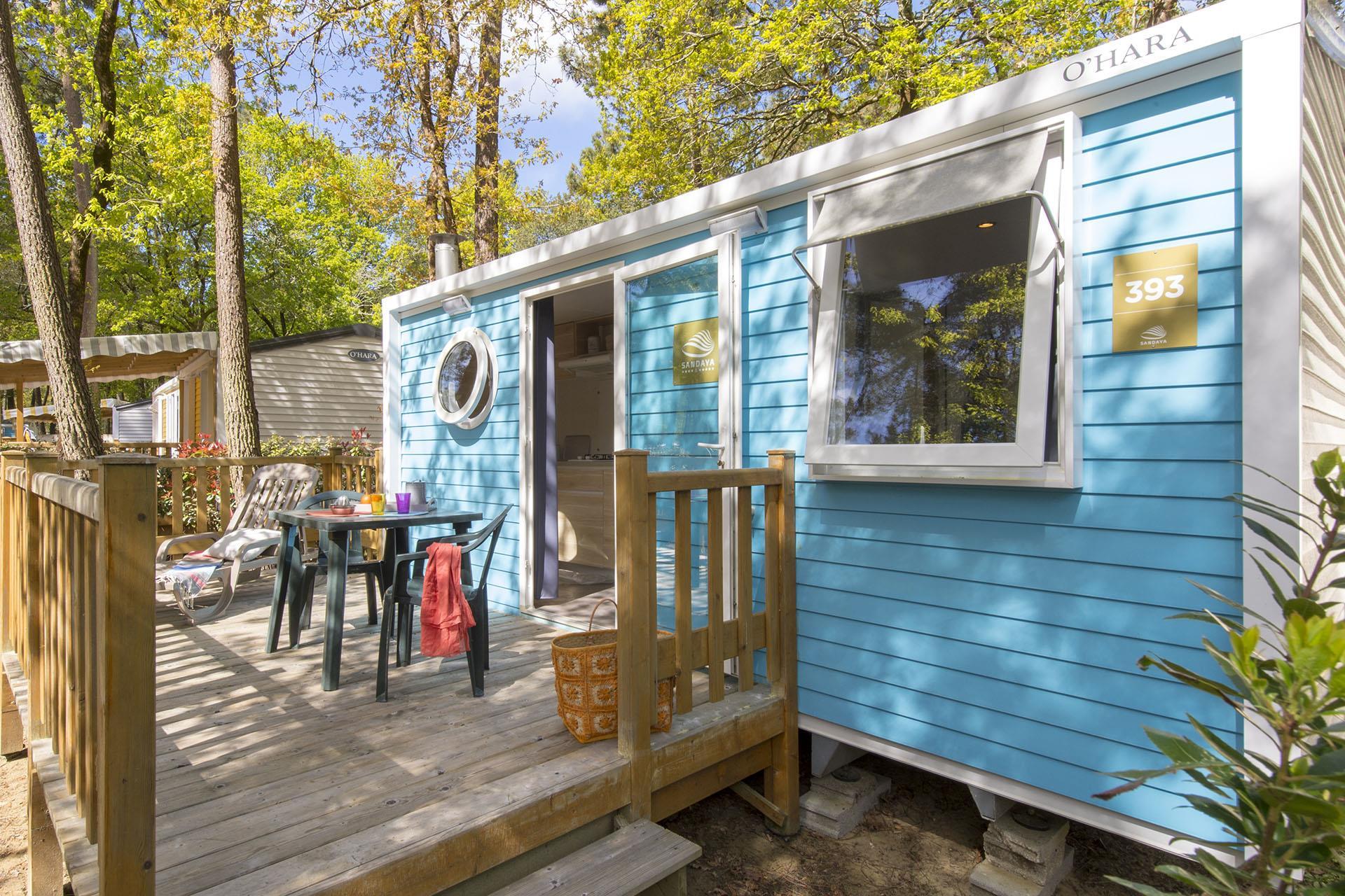 Location - Cottage 1 Chambre ** - Camping Sandaya L'Orée du Bois