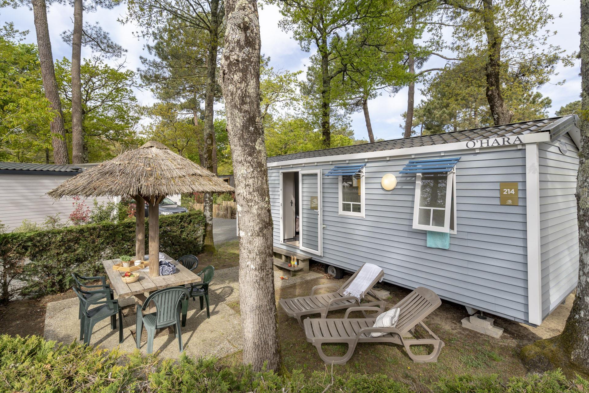Location - Cottage 2 Chambres ** - Camping Sandaya L'Orée du Bois