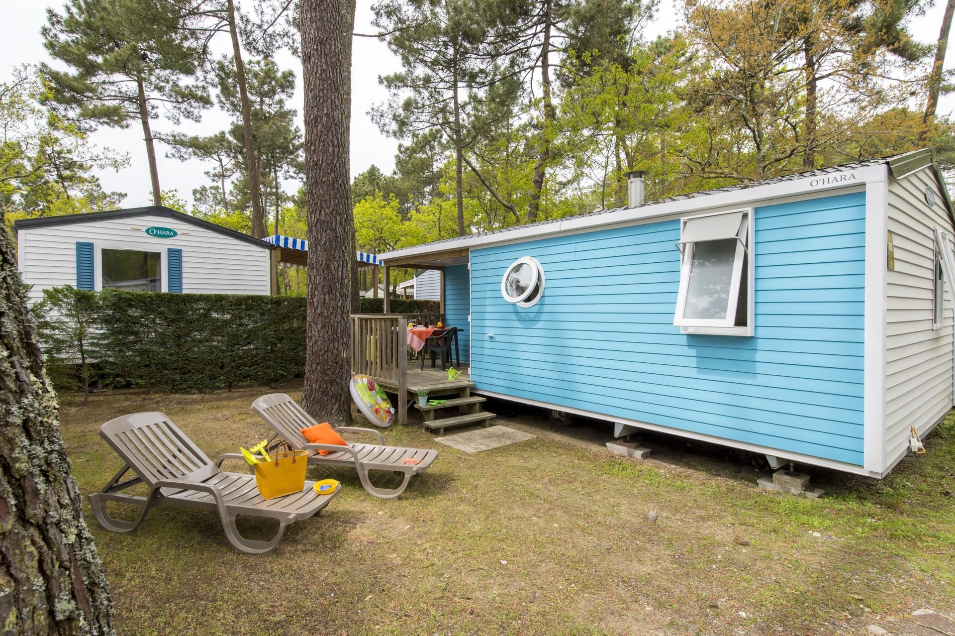 Location - Cottage 2 Chambres *** - Camping Sandaya L'Orée du Bois