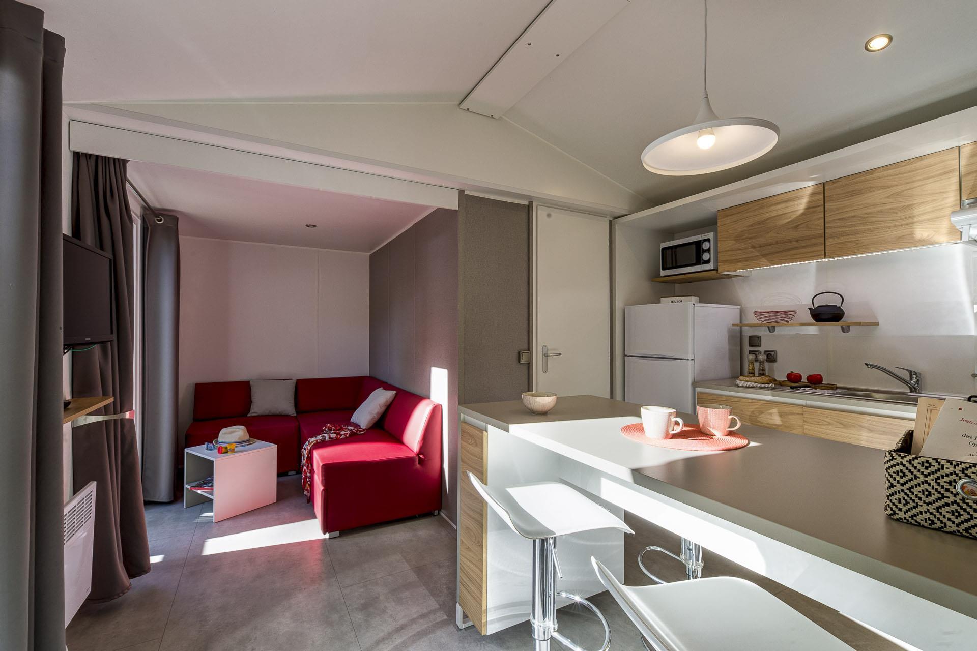 Location - Cottage Confort 2 Chambres *** - Camping Sandaya L'Orée du Bois