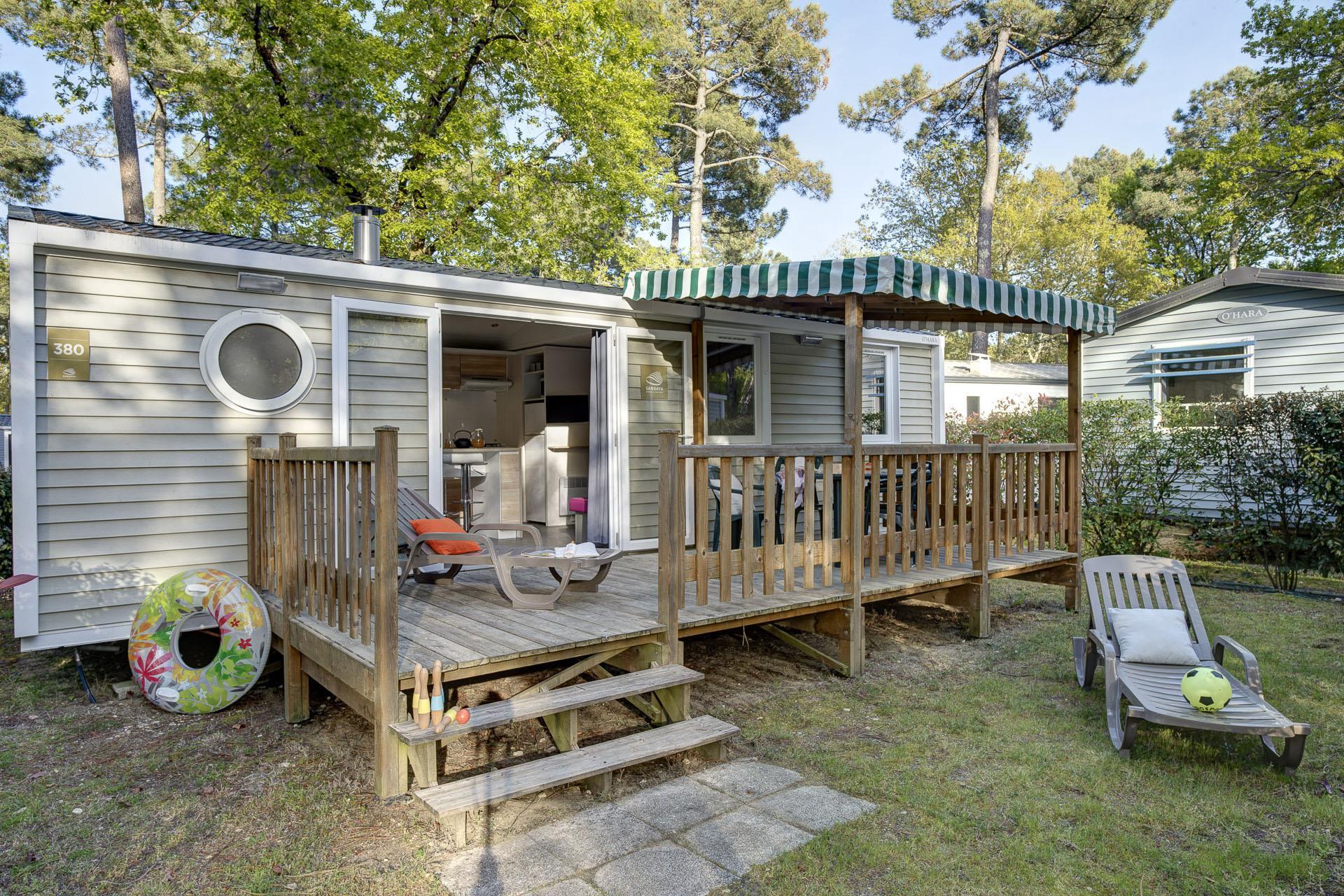 Location - Cottage 3 Chambres *** - Camping Sandaya L'Orée du Bois