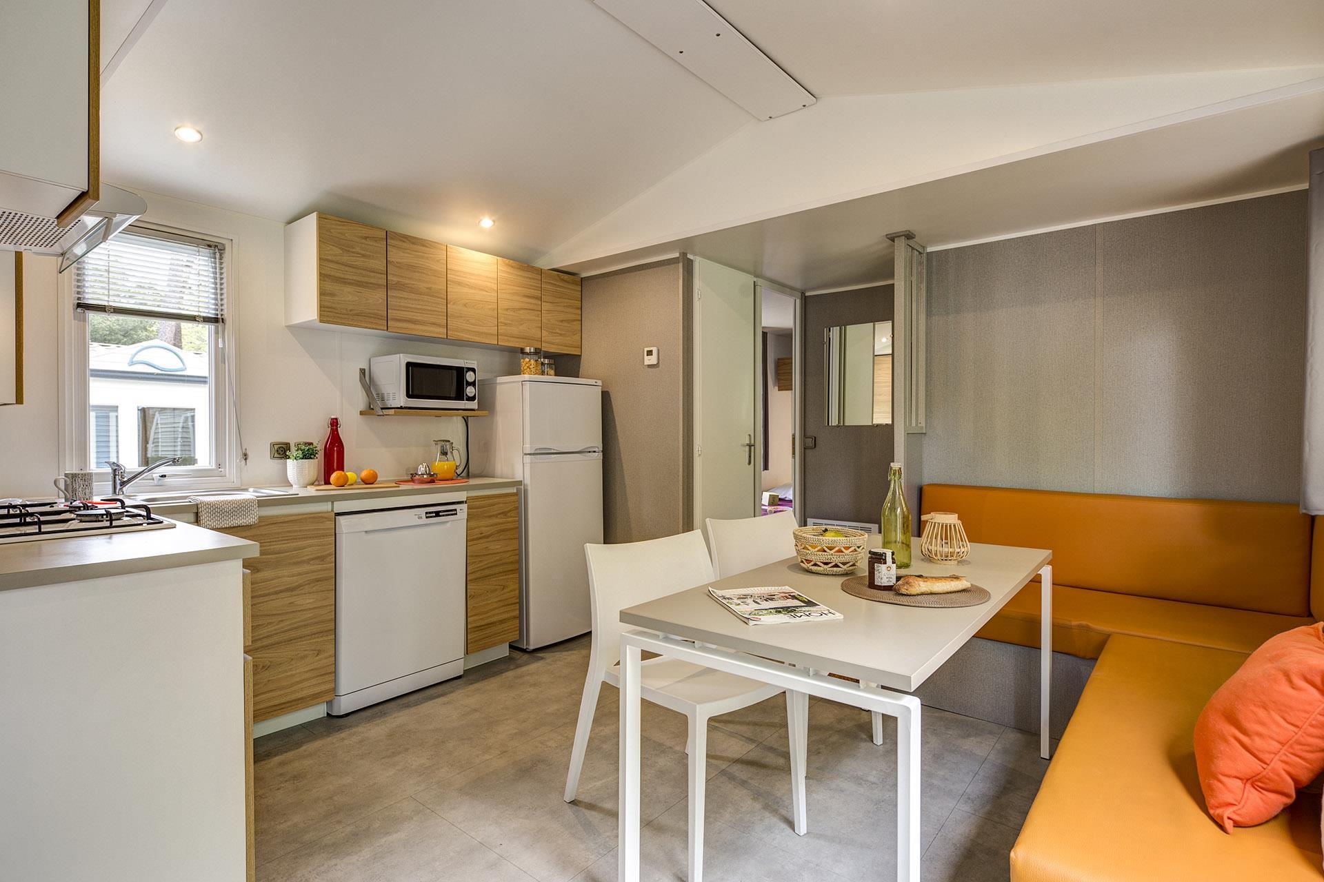 Location - Cottage 6 Chambres 2 Salles De Bains *** - Camping Sandaya L'Orée du Bois