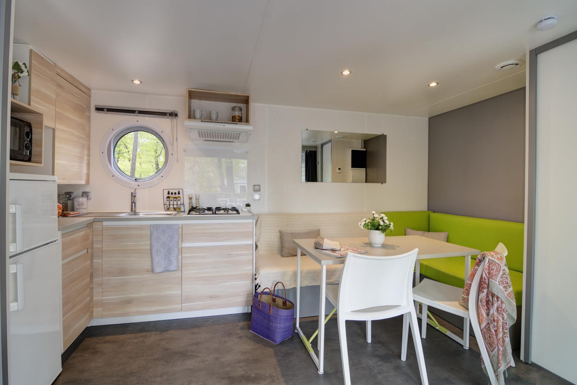 Location - Cottage 2 Chambres 2 Salles De Bains **** - Camping Sandaya L'Orée du Bois