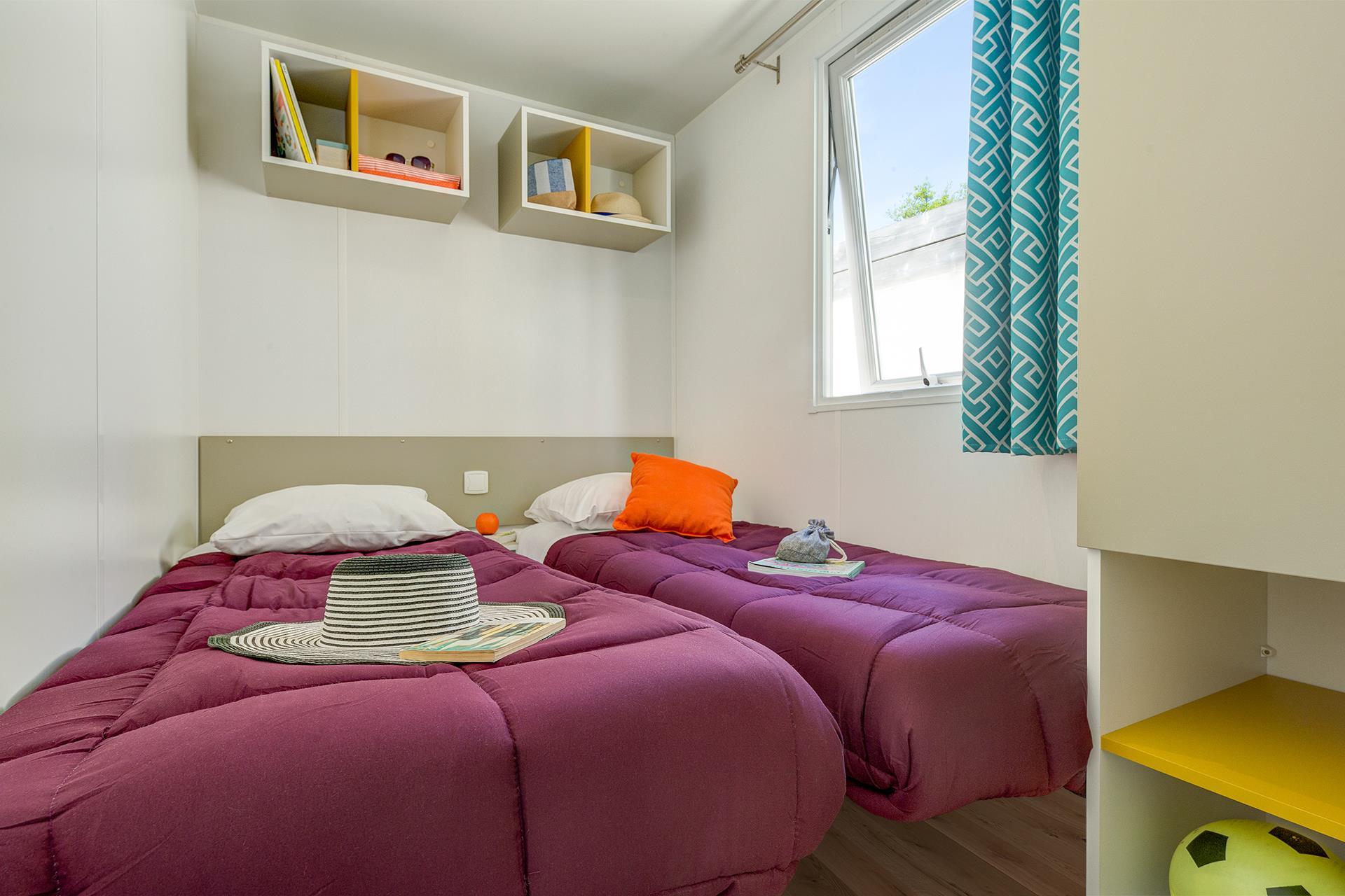 Location - Cottage 4 Chambres **** - Camping Sandaya L'Orée du Bois