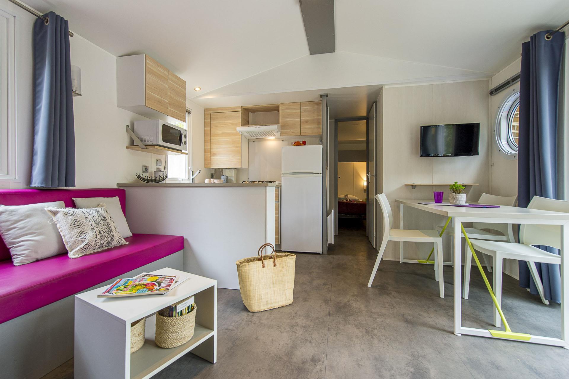Location - Cottage 3 Chambres 2 Salles D'eau **** - Camping Sandaya L'Orée du Bois