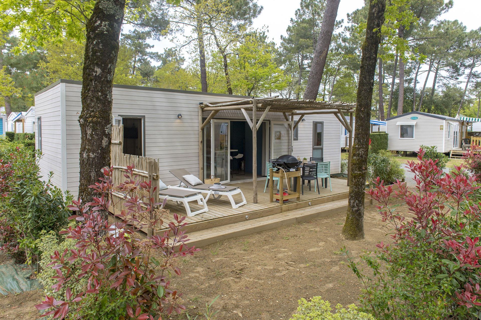 Location - Cottage Key West 3 Chambres Premium - Camping Sandaya L'Orée du Bois