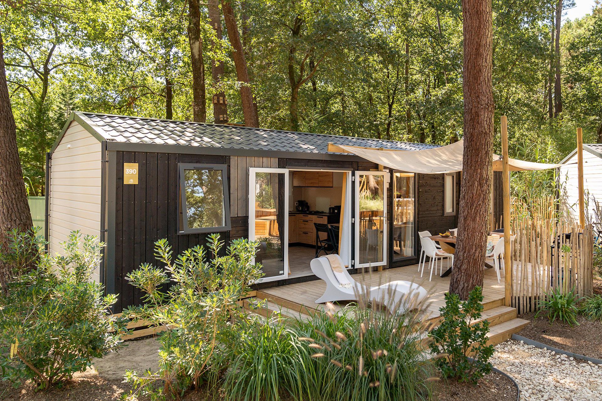 Location - Cottage Cocoon 3 Chambres Premium - Camping Sandaya L'Orée du Bois