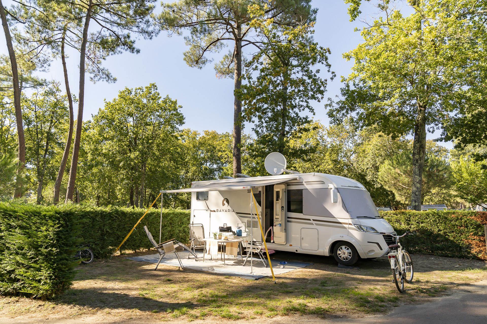 Emplacement - Forfait Emplacement ** - Camping Sandaya L'Orée du Bois