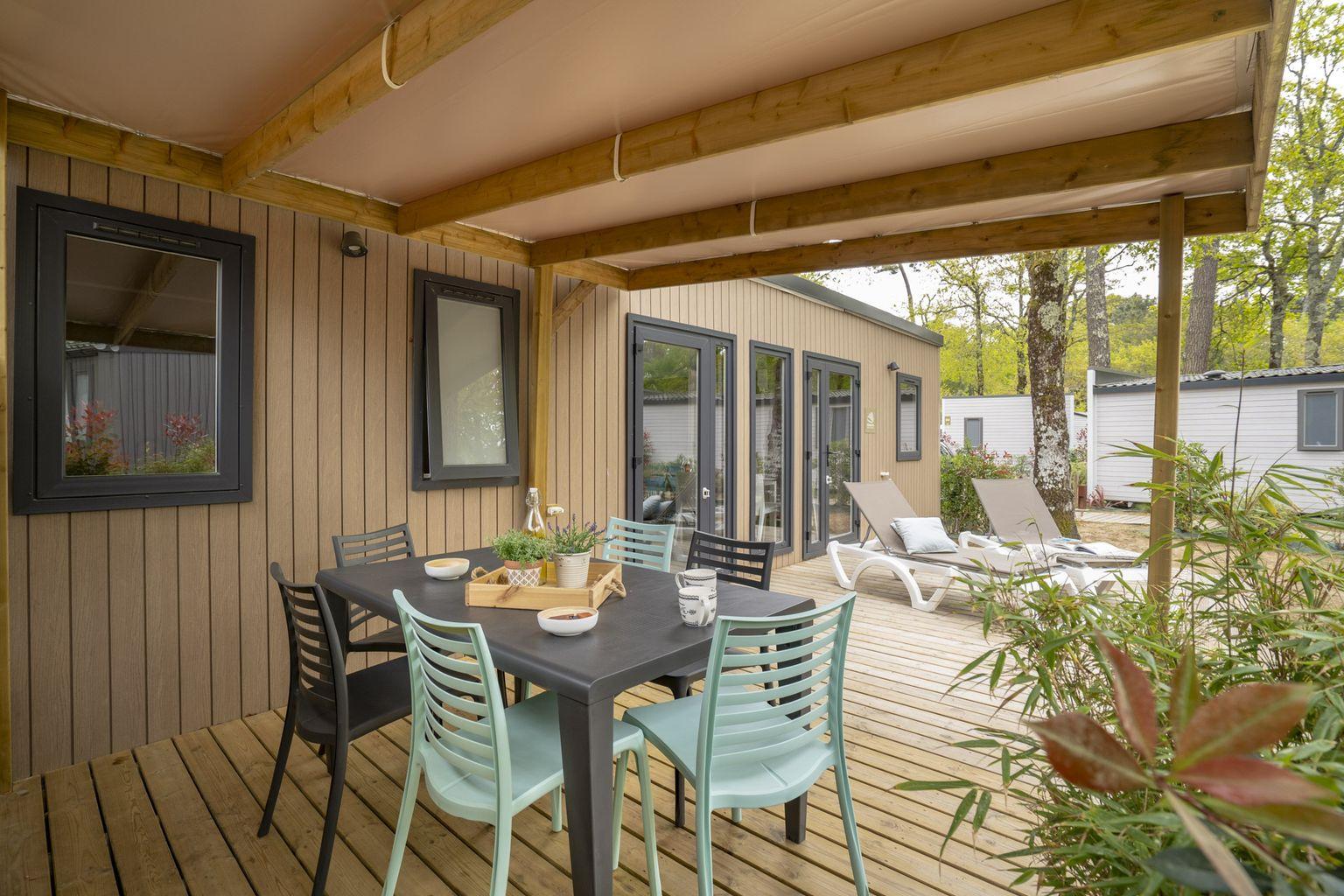 Location - Cottage 3 Chambres Premium - Camping Sandaya L'Orée du Bois