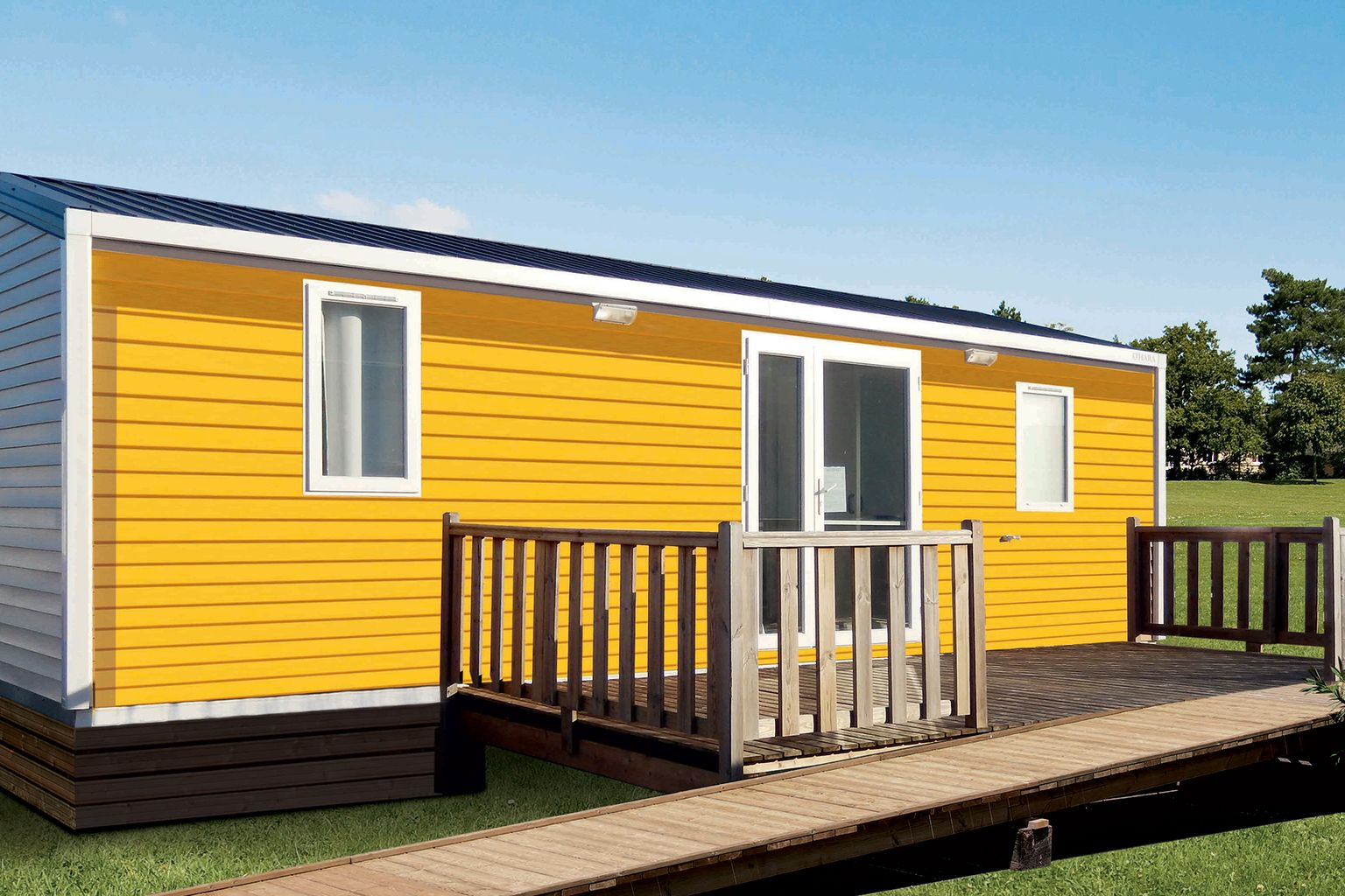 Location - Cottage Pmr 2 Chambres *** - Camping Sandaya L'Orée du Bois