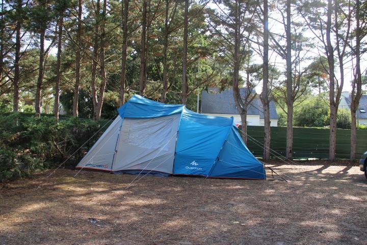 Emplacement - Forfait Nature (1 Tente, Caravane Ou Camping-Car / 1 Voiture) - Camping Domaine de Pont Mahé