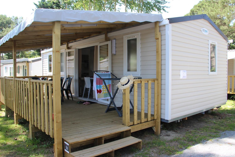 Location - Mobil-Home Cordelia Premium 30.50M² 3 Chambres - Camping Domaine de Pont Mahé
