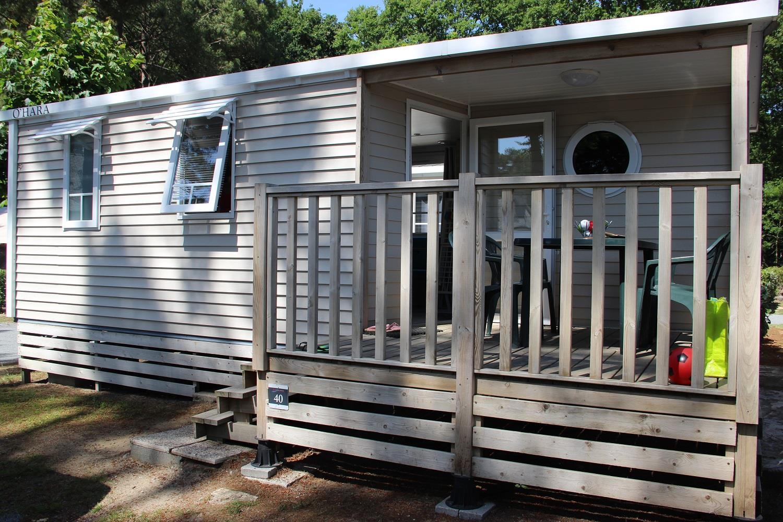 Location - Mobilhome Pêcheur Confort+ 20M² (2 Chambres) - Camping Domaine de Pont Mahé