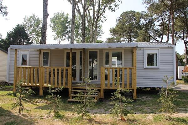 Location - Mobil-Home Evasion Premium 37 M² (3 Chambres 2 Salles De Bain) 6 Pers. - Camping Domaine de Pont Mahé