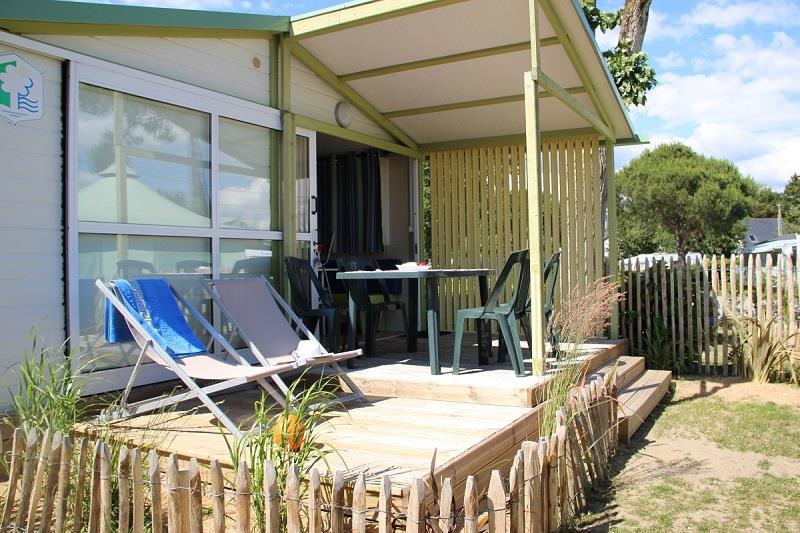 Location - Chalet Némo Confort 20M² (2 Chambres) - Camping Domaine de Pont Mahé
