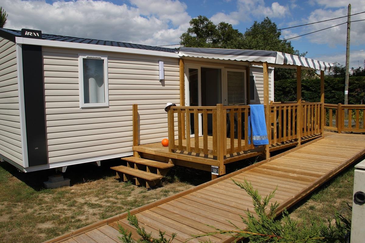 Location - Mobilhome Life Pmr Premium 30.50M² 2 Chambres - Camping Domaine de Pont Mahé