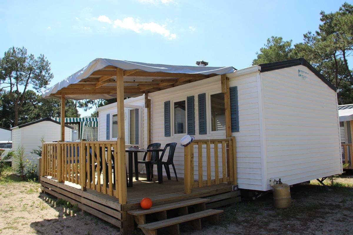 Location - Mobilhome Baliste Eco 29M² (2 Chambres) - Camping Domaine de Pont Mahé