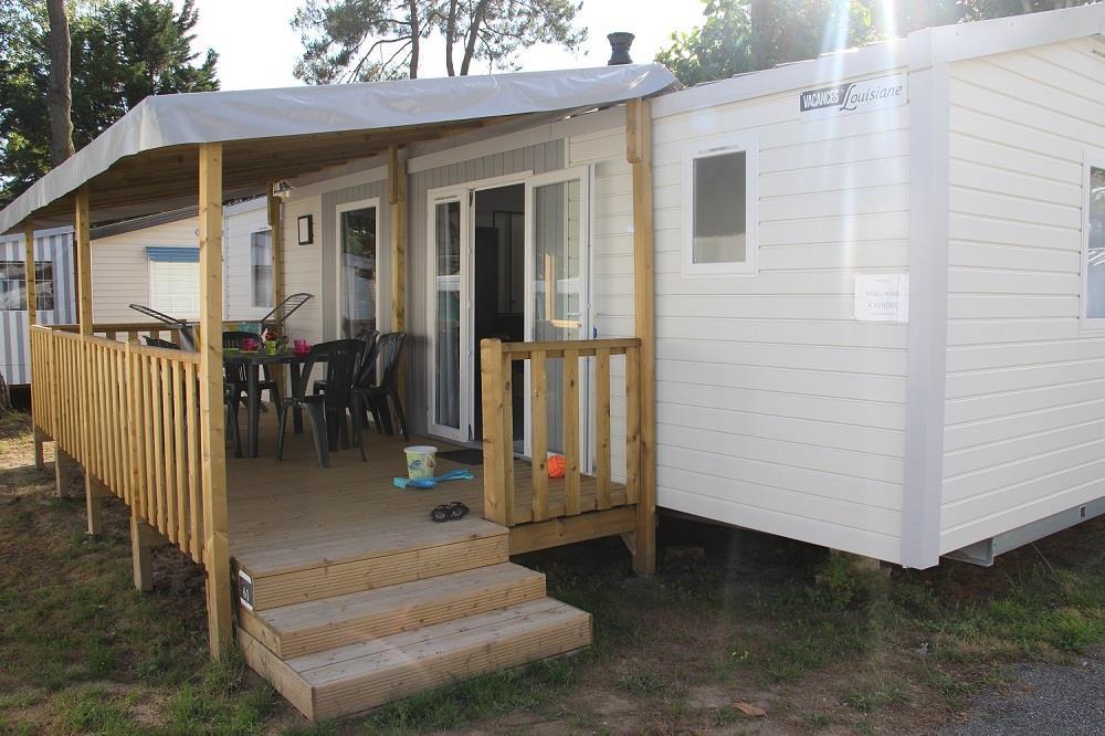 Location - Mobil-Home Corail Premium 36 M² (3 Chambres) - Camping Domaine de Pont Mahé