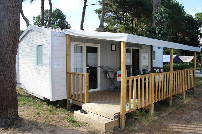 Location - Mobil-Home Atlantic Premium 30M² (2 Chambres) - Camping Domaine de Pont Mahé