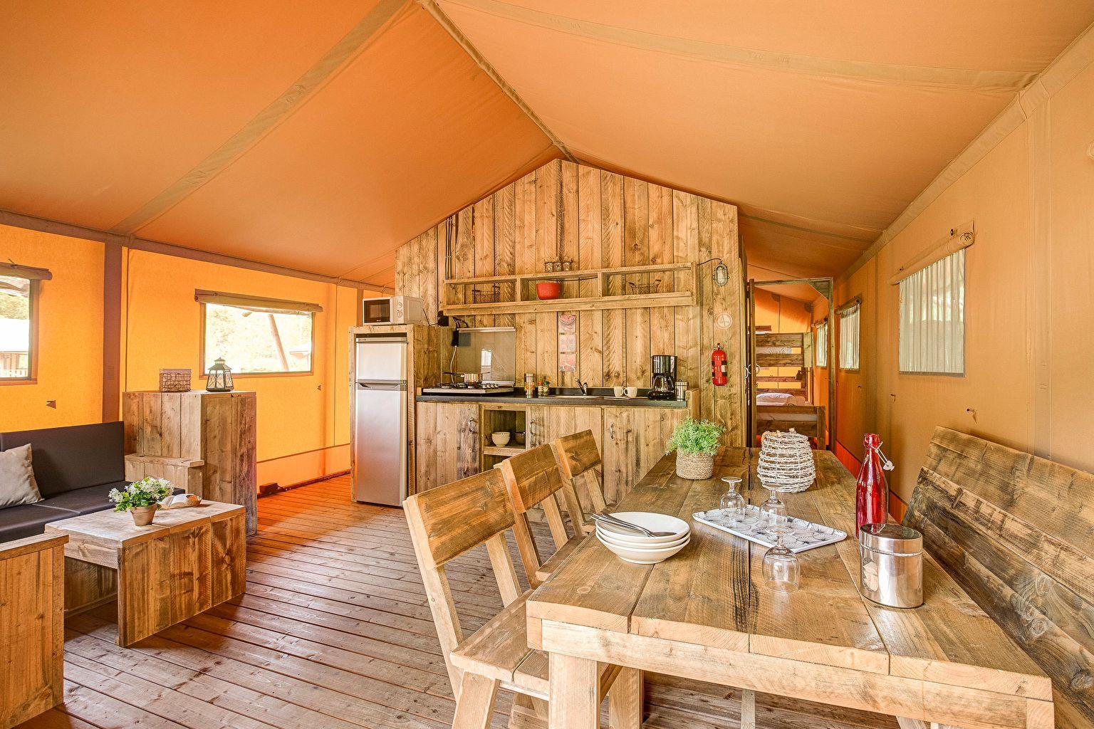 Location - Lodge Forest Camp 2 Chambres **** - Camping Sandaya Les Alicourts Resort