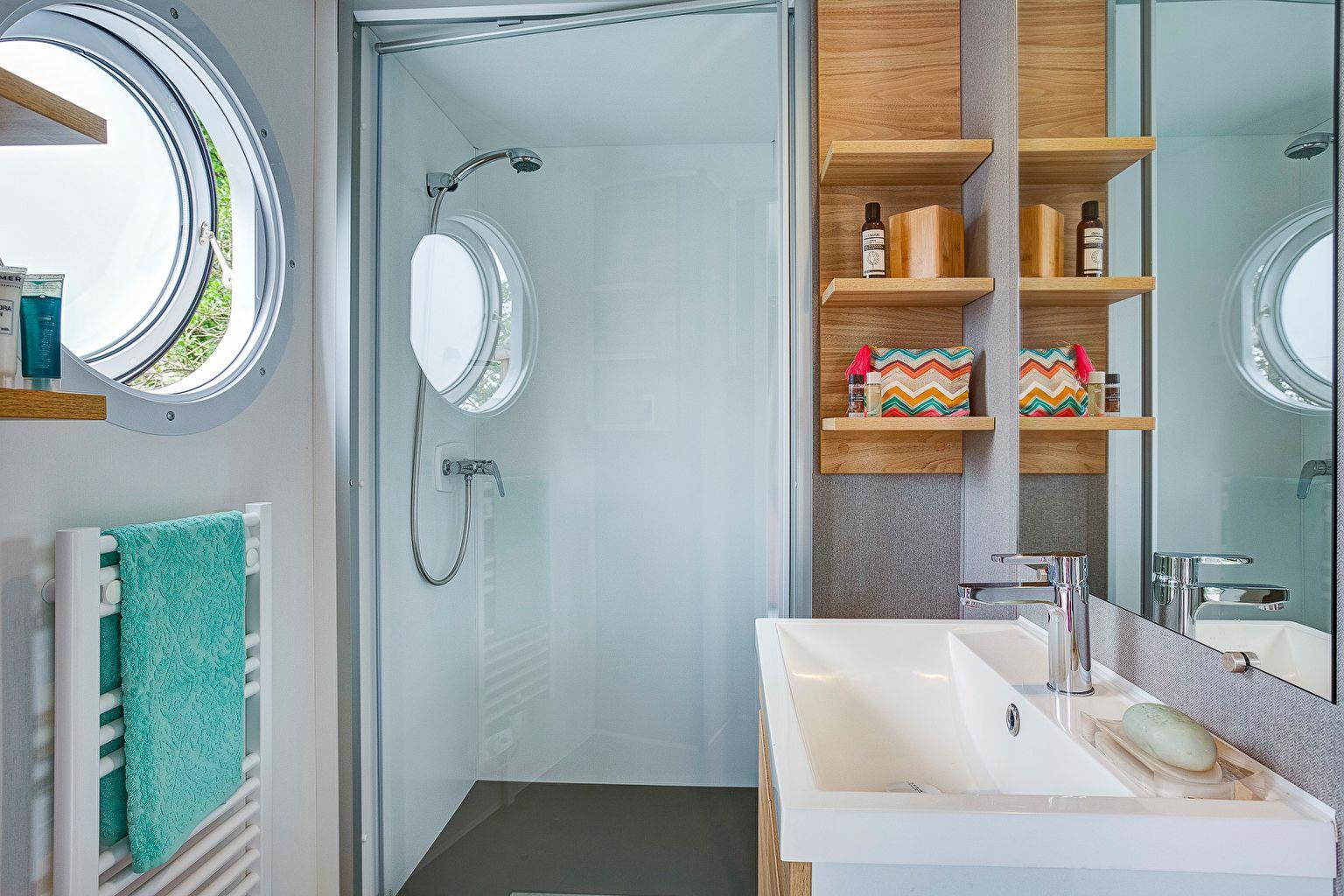 Location - Cottage Key West 3 Chambres - Climatisation **** - Camping Sandaya Les Alicourts Resort