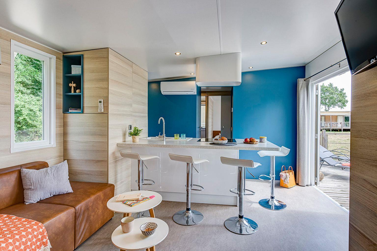 Location - Cottage Key West 3 Chambres - 2 Salles De Bain - Climatisation Premium - Camping Sandaya Les Alicourts Resort