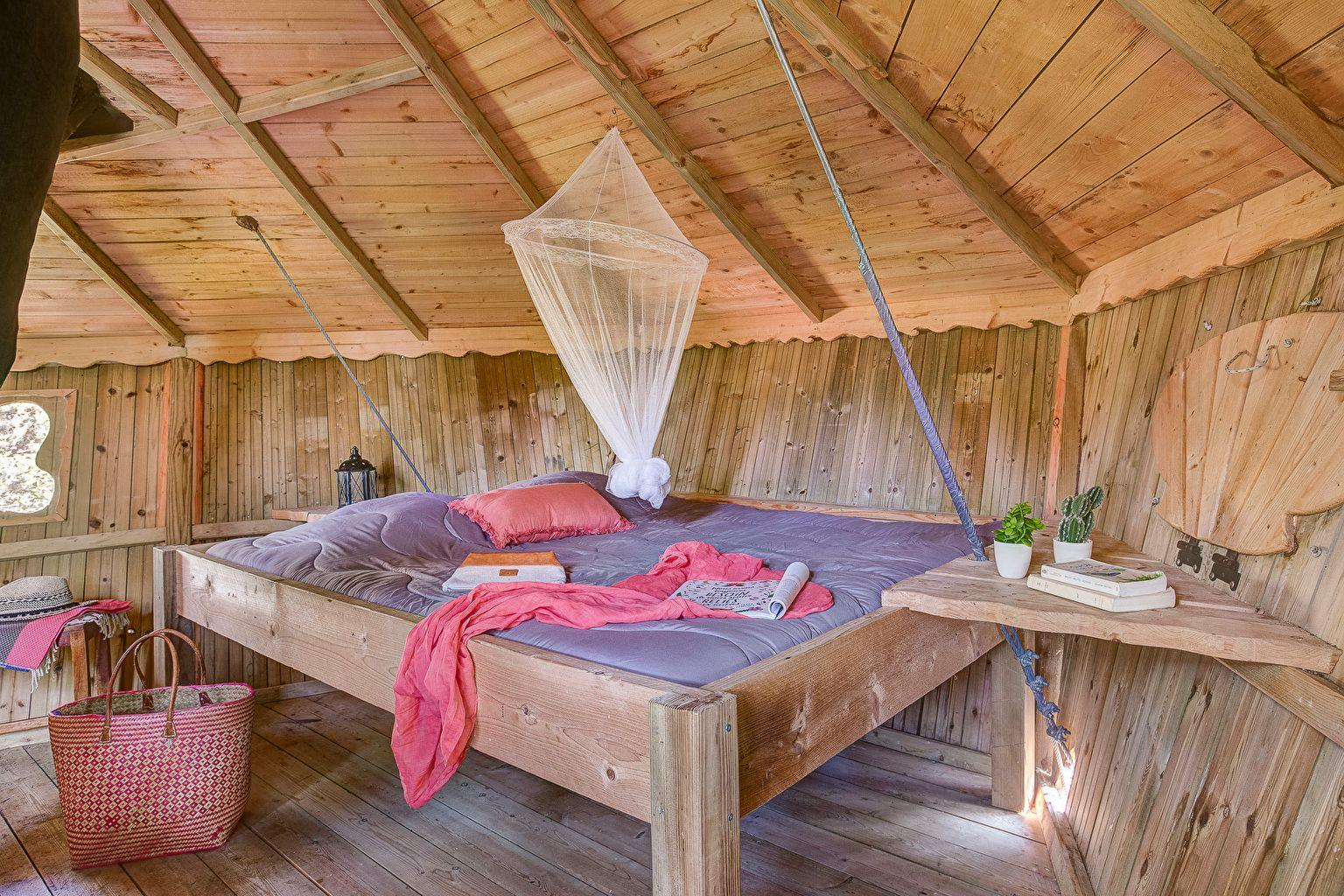 Location - Cabane Dans Les Arbres Forest Camp Insolite - Camping Sandaya Les Alicourts Resort