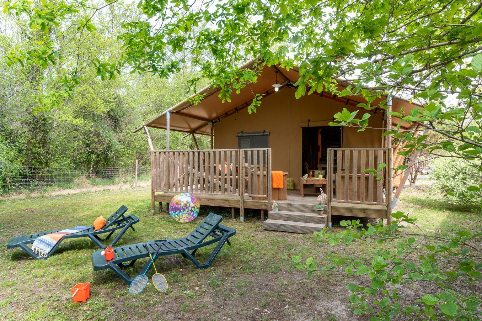 Location - Lodge Forest Camp 3 Chambres **** - Camping Sandaya Les Alicourts Resort