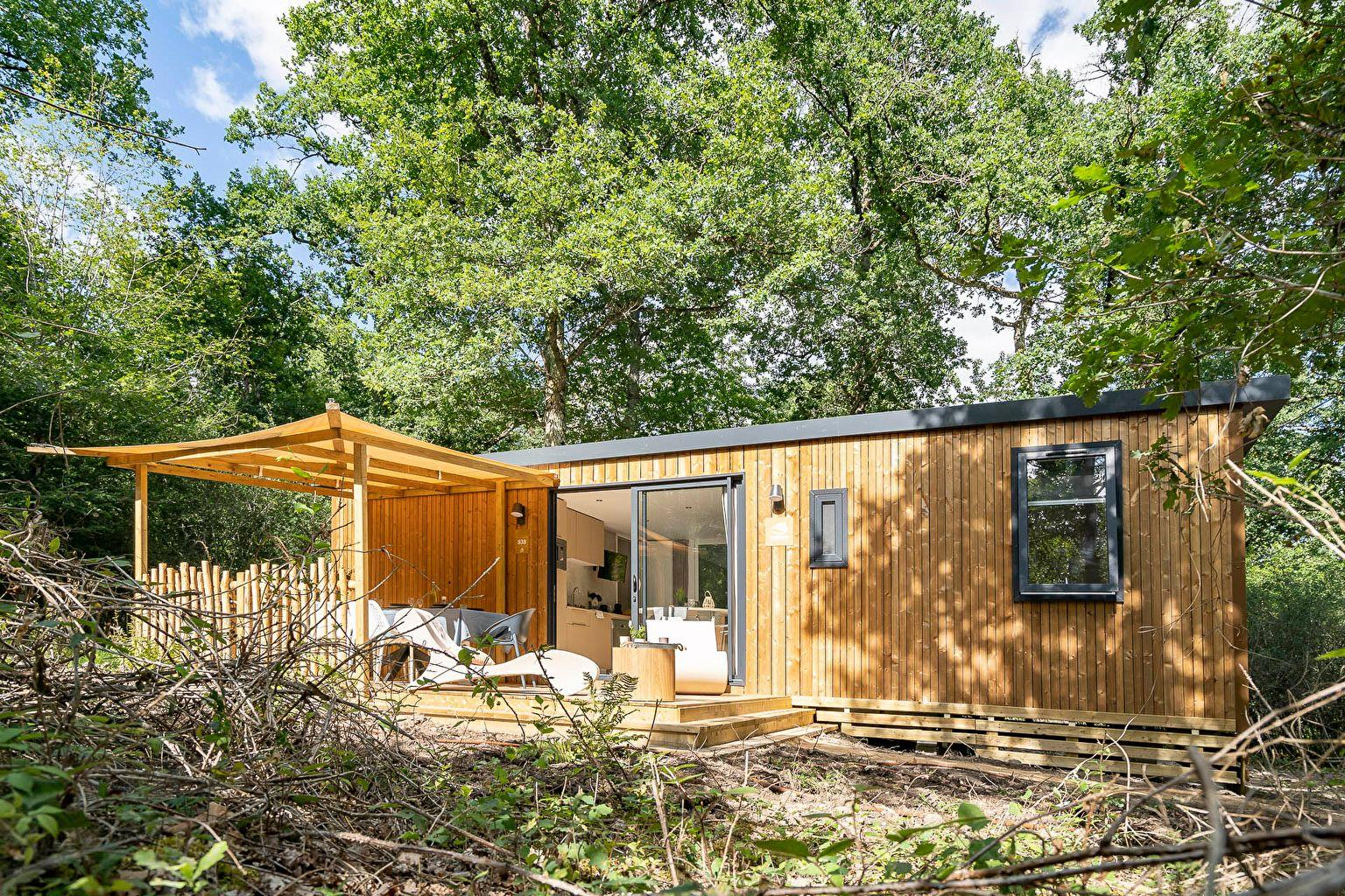 Location - Cottage Keywest Forest Camp 3 Chambres Premium - Camping Sandaya Les Alicourts Resort