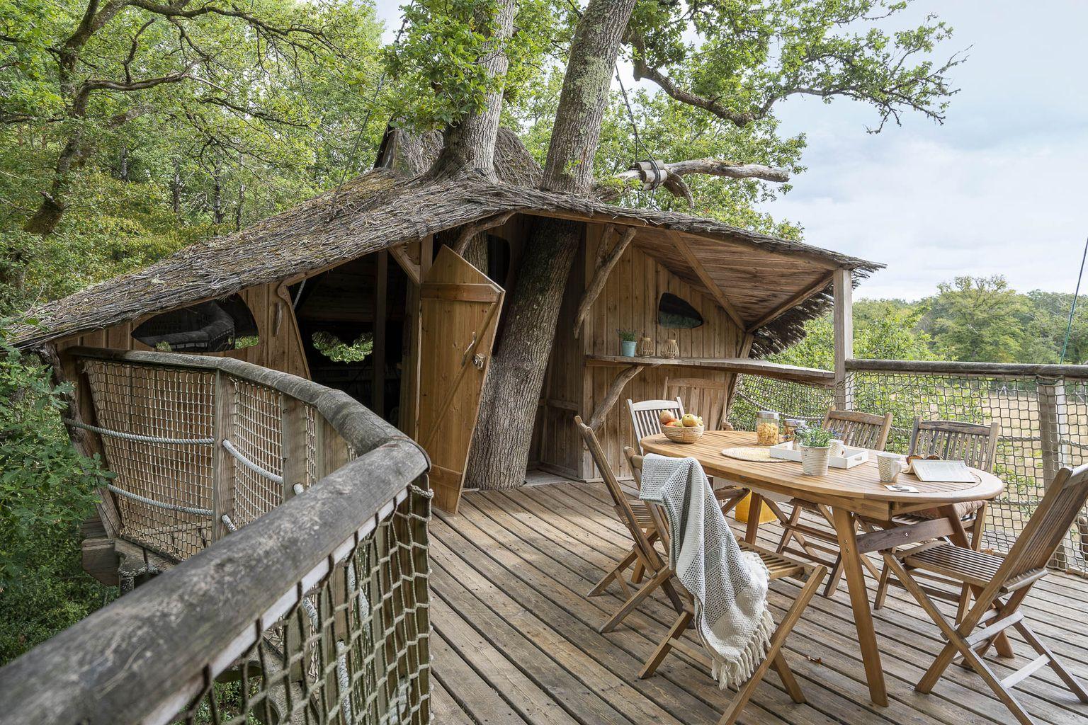 Location - Cabane Dans Les Arbres Forest Camp Insolite - Camping Sandaya Les Alicourts