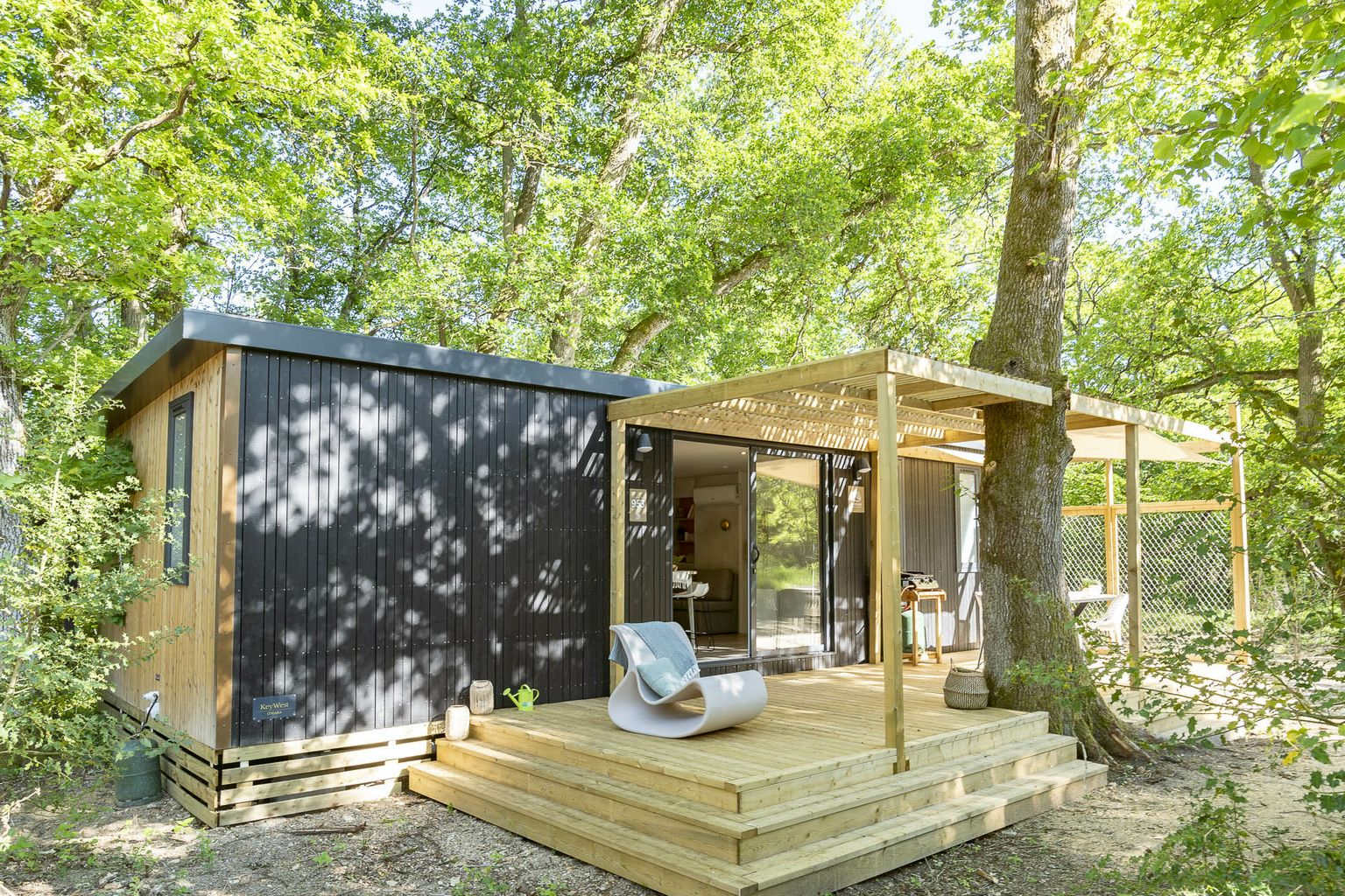 Location - Cottage Garden Forest Camp 2 Chambres Premium - Camping Sandaya Les Alicourts