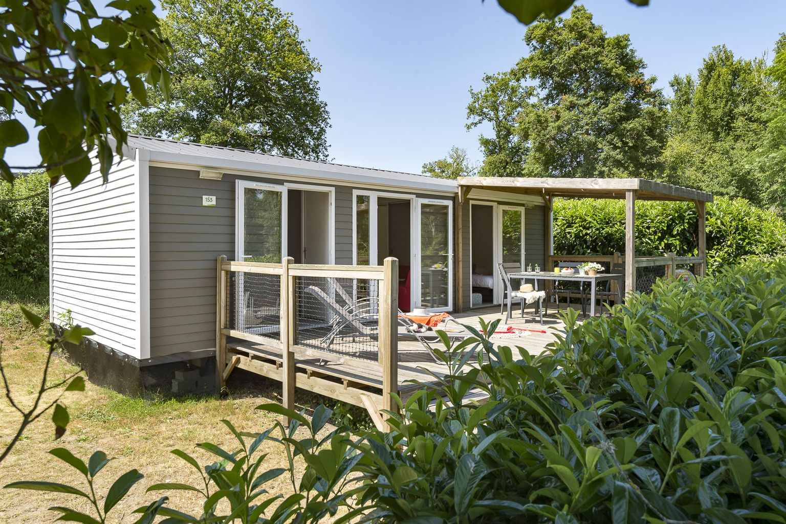 Location - Cottage Sologne 2 Chambres **** - Camping Sandaya Les Alicourts