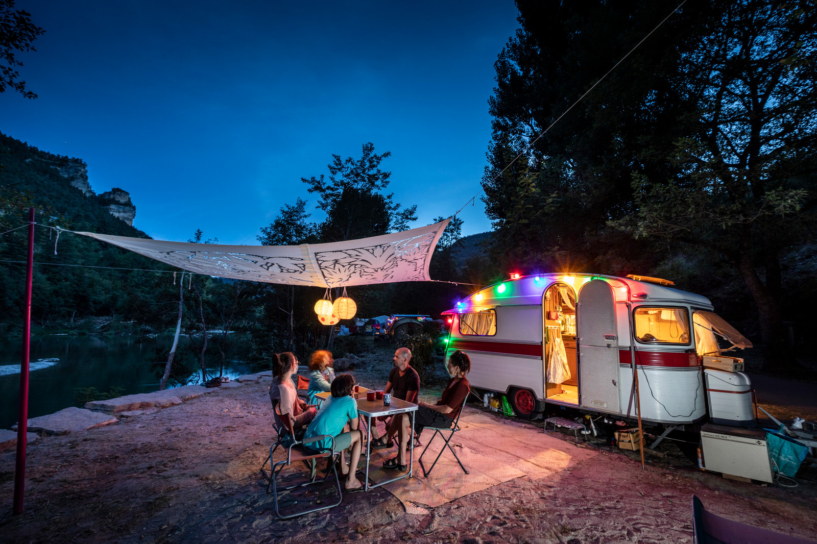 Camping Huttopia Gorges du Tarn, Les Vignes, Lozère
