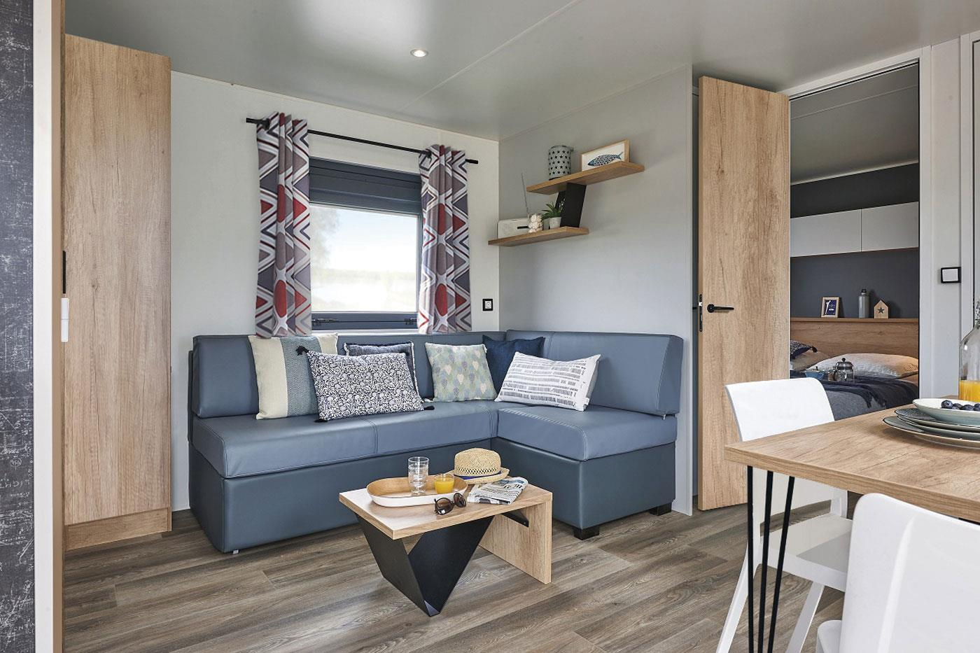 Mobil home STANDING 32 + 17 m²