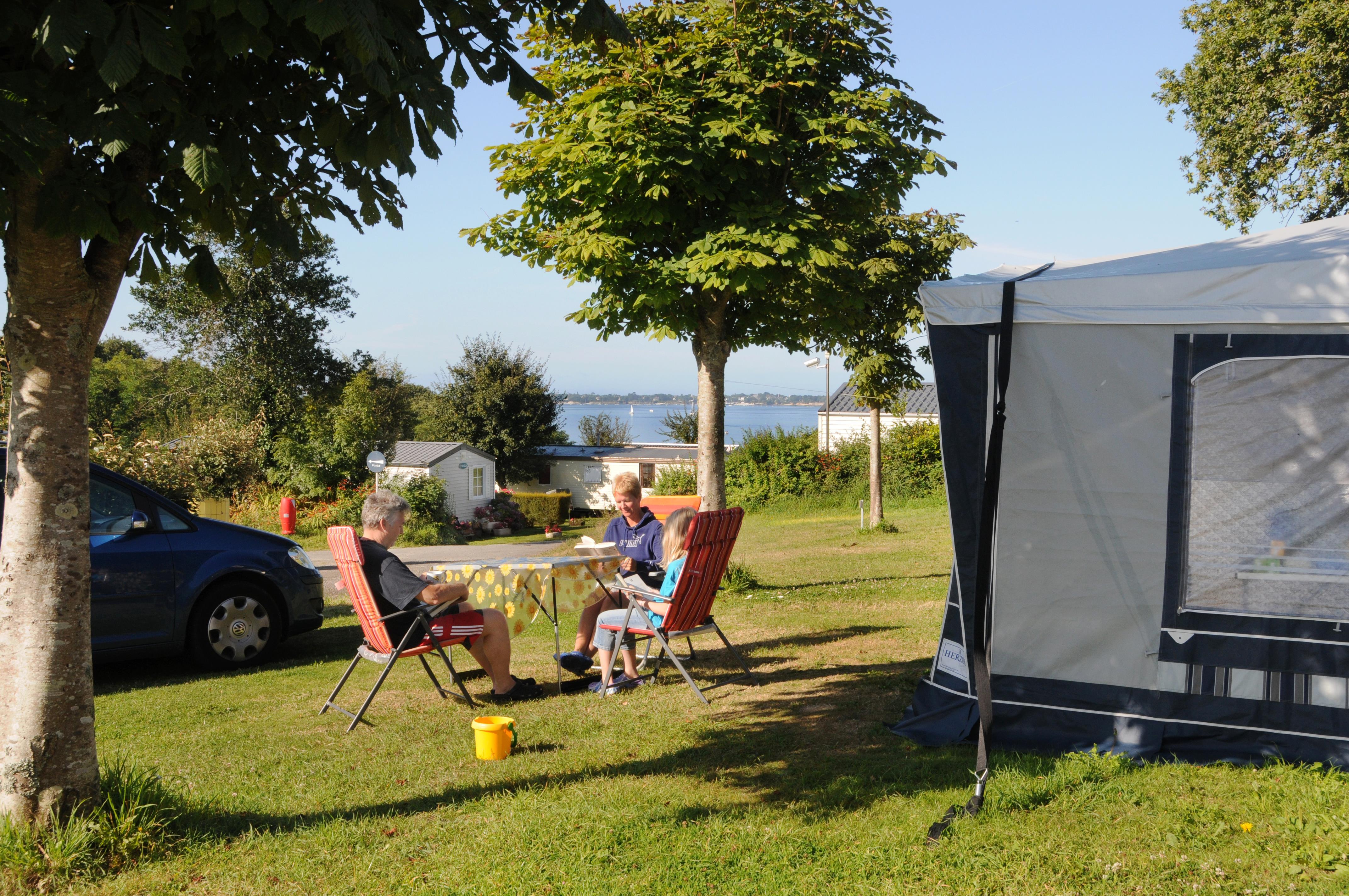 Camping les Prés Verts Aux 4 Sardines, Concarneau, Finistère