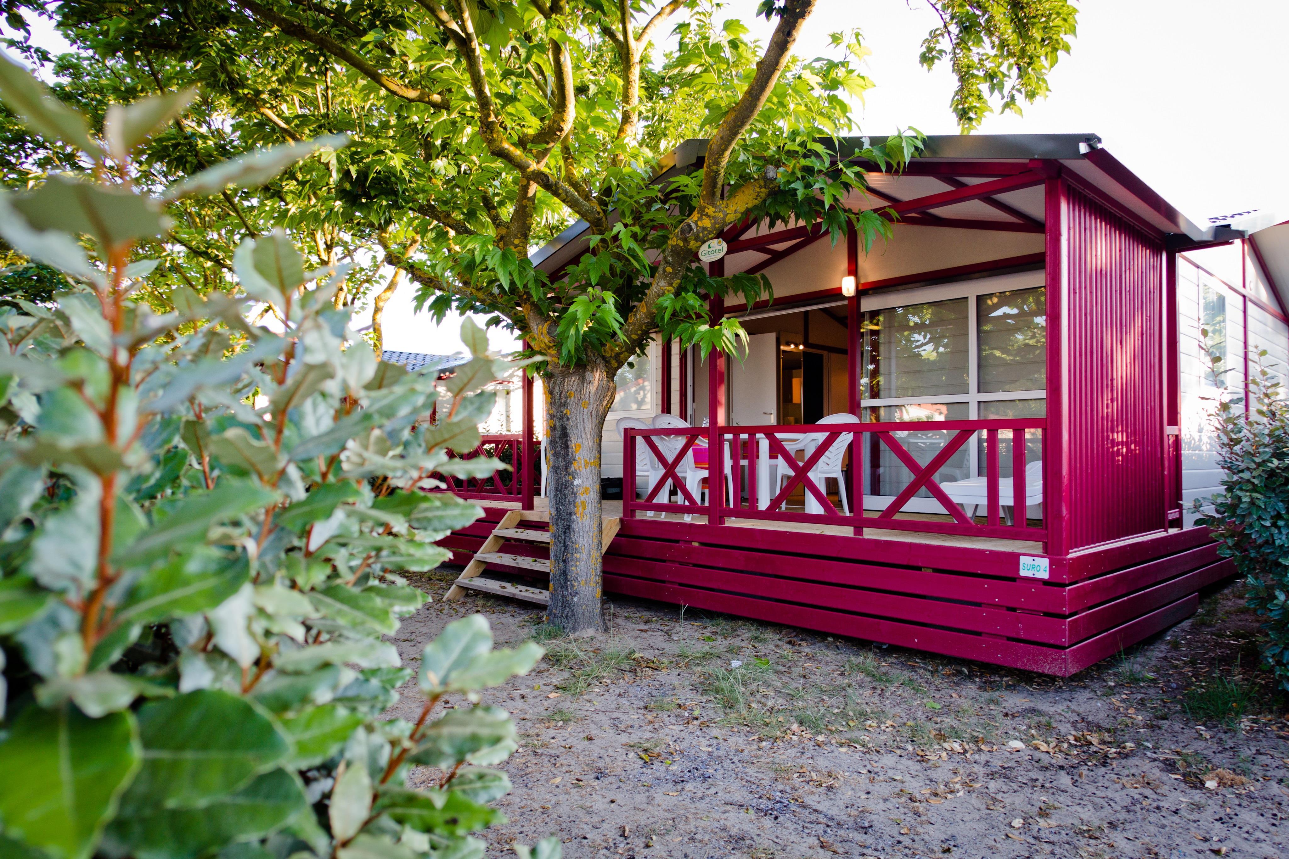 Location - Chalet Surouas - Camping Le Saint Martin