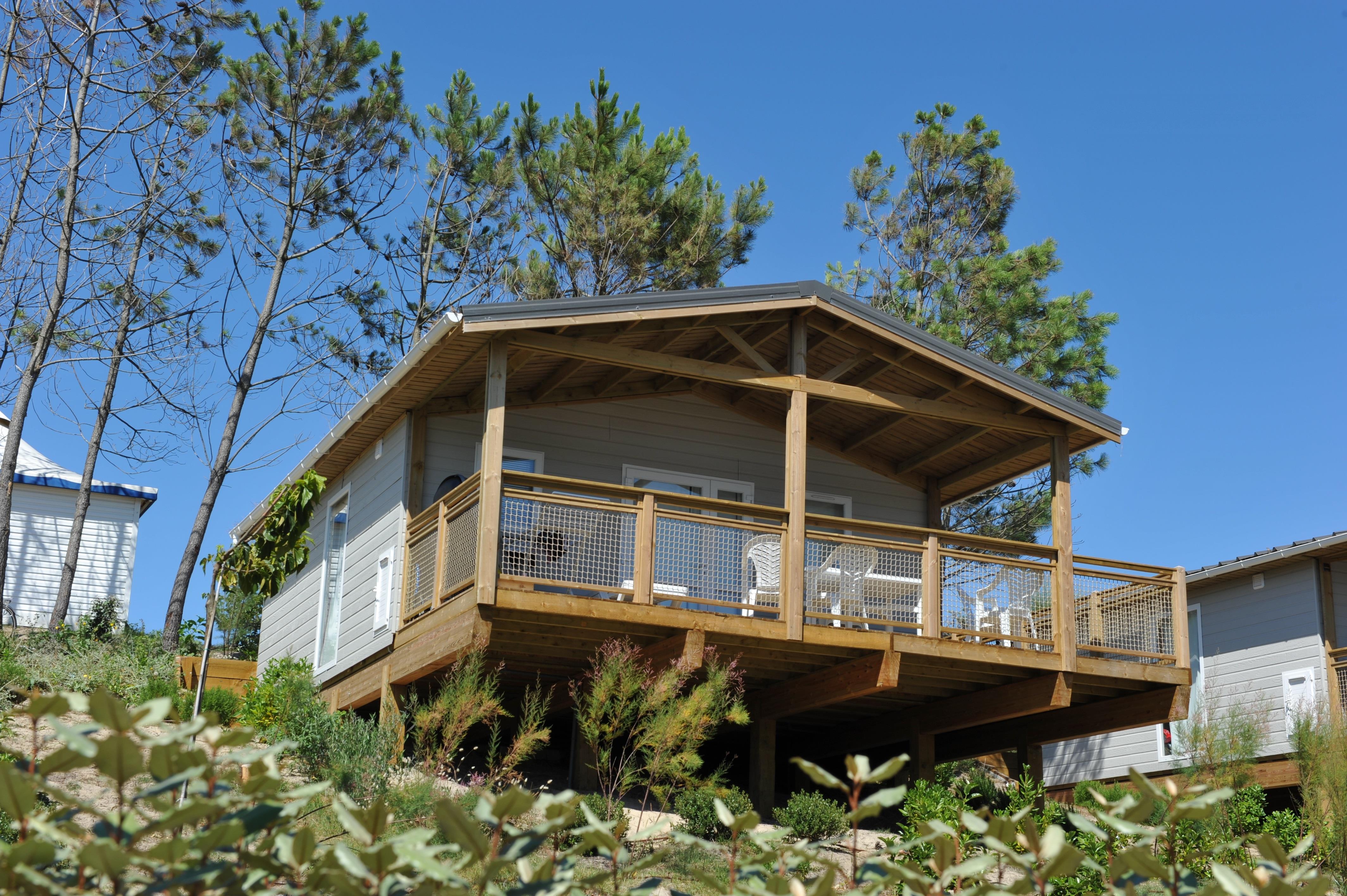 Location - Chalet Tivano - Camping Le Saint Martin
