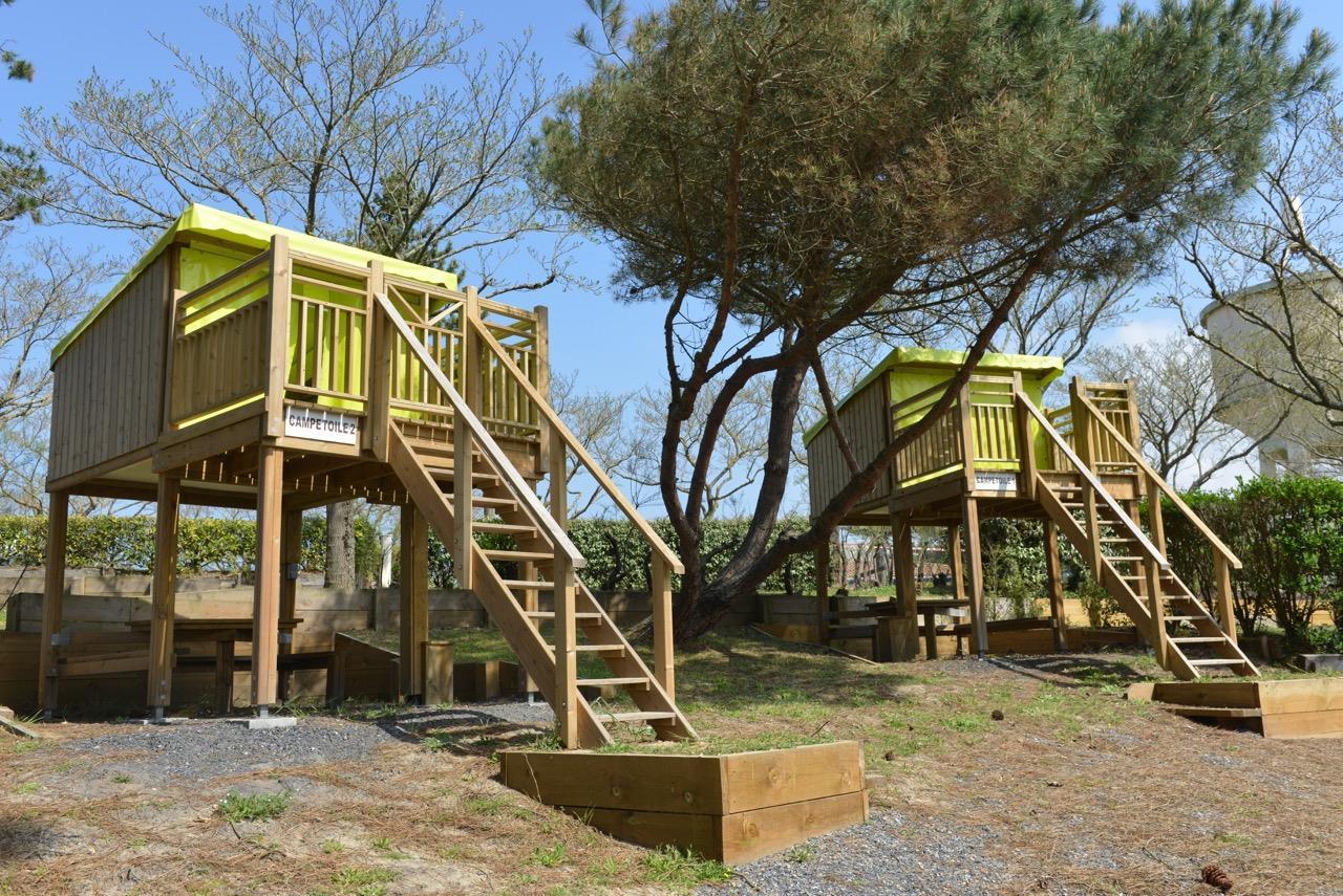 Location - Tente Campétoile - Camping Le Saint Martin