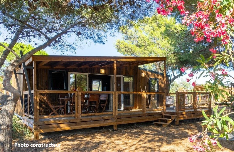 Location - Lodge Gascogne - Airotel Club Marina Landes