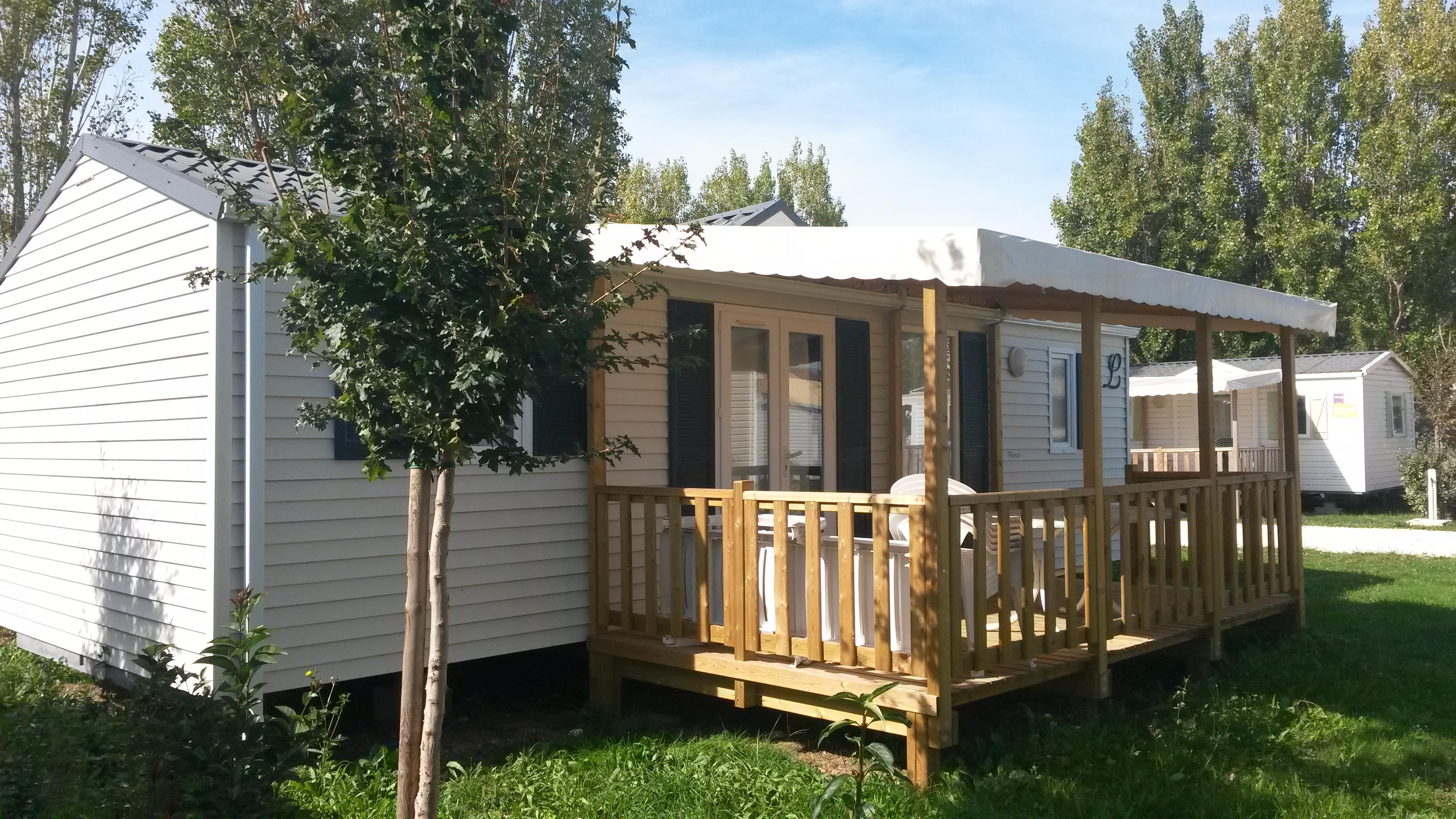 Location - Mobil-Home Confort 3 Chambres (S) - Camping Airotel Oléron