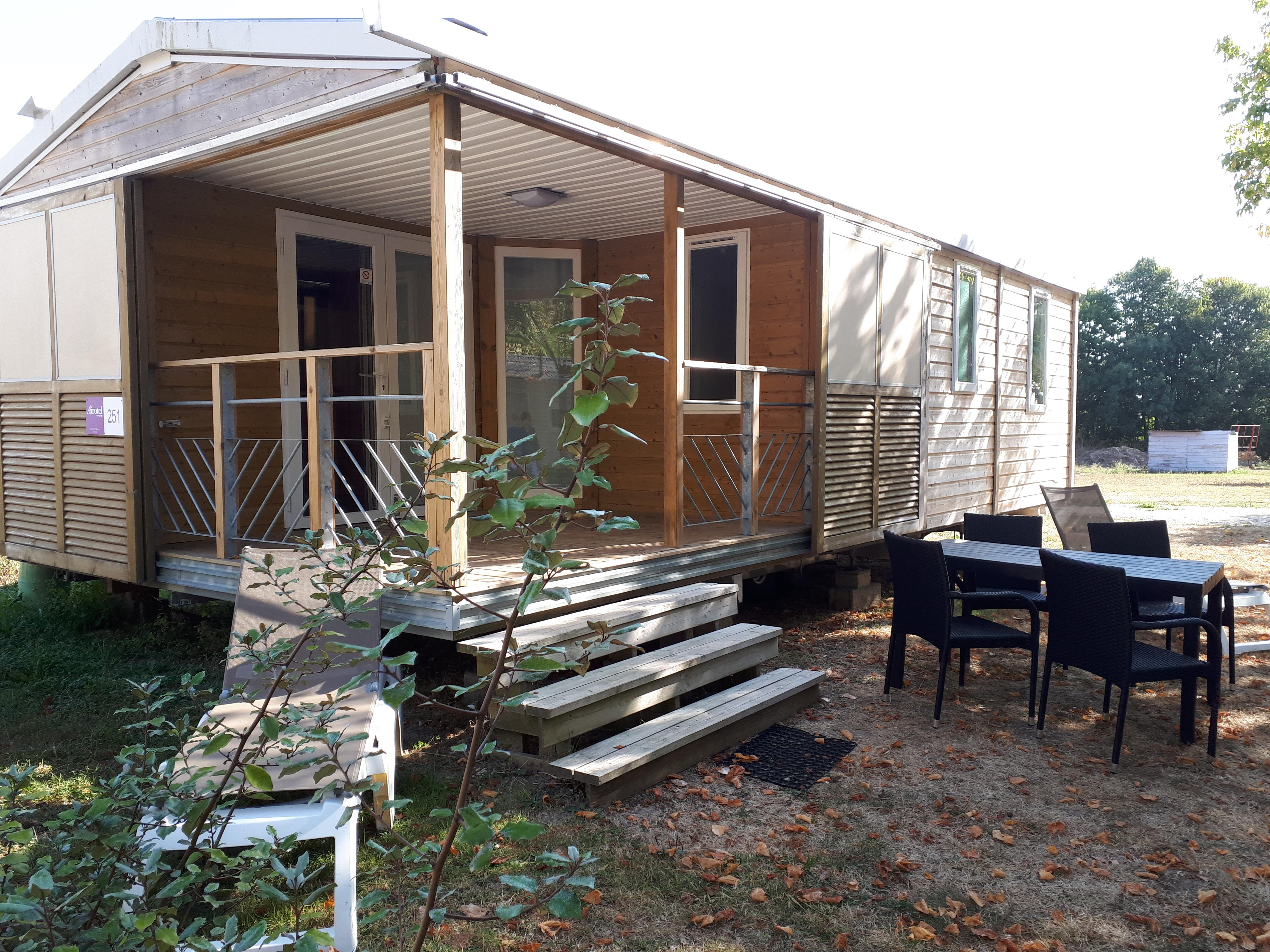 Location - Chalet Soleo Suite 4 Pers Dans Forfait 2 Chambres (S) - Camping Airotel Oléron