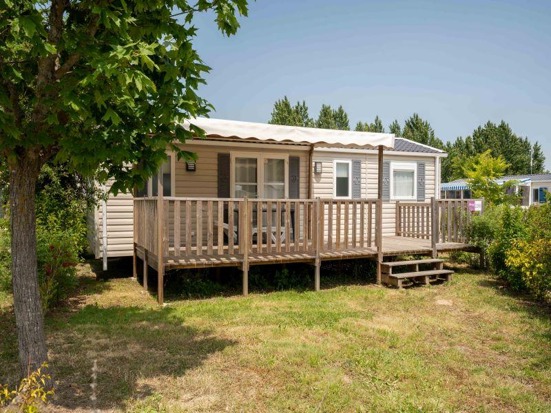 Location - Mobile Home 3 Chambres 6 Pers Dans Forfait 2 Sdb 2 Wc Terrasse Couverte + Lave-Vaisselle (S) - Camping Airotel Oléron