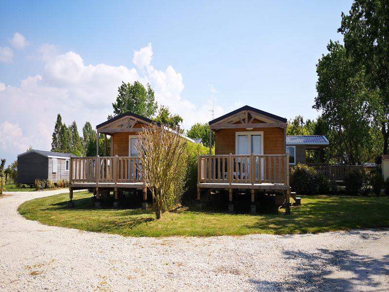 Location - Loggia Bay Terrasse Integrée 2 Chambres (M) 5 Pers. - Camping Airotel Oléron