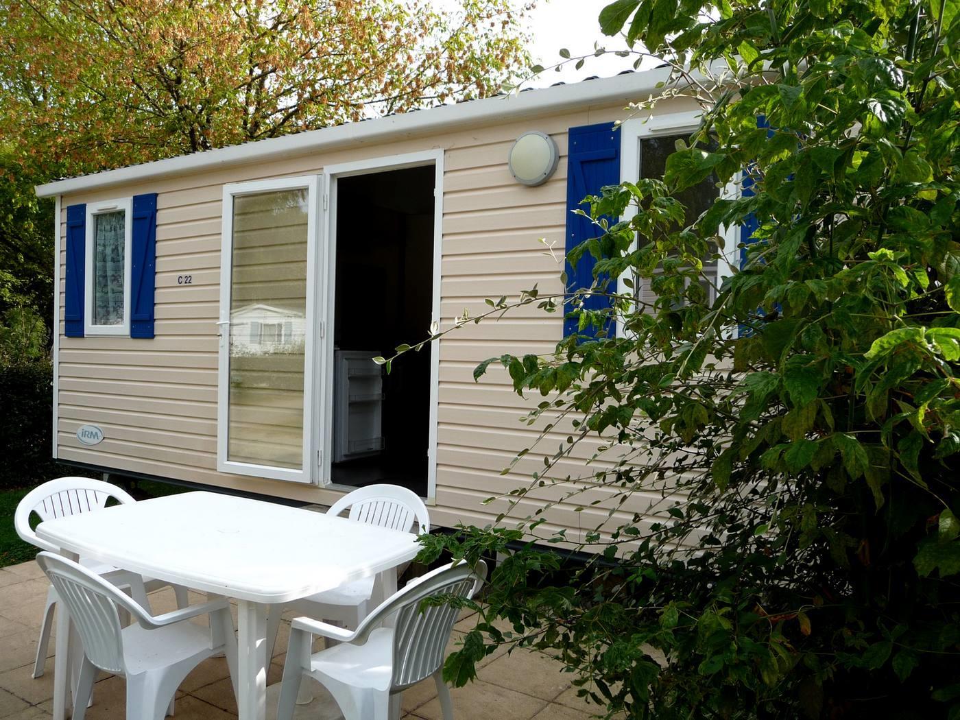 Location - Mobil Home Domino - - Camping Sites et Paysages De Penboch